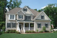 Country Exterior - Front Elevation Plan #927-257