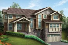 Dream House Plan - Craftsman Exterior - Front Elevation Plan #132-467