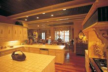Country Interior - Kitchen Plan #453-153