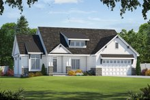 Craftsman Exterior - Front Elevation Plan #20-2329