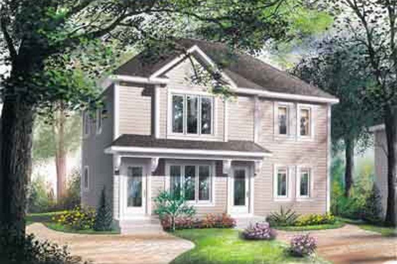 Southern Exterior - Front Elevation Plan #23-508 - Houseplans.com