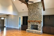 Craftsman Style House Plan - 4 Beds 4.5 Baths 3958 Sq/Ft Plan #437-85 Interior - Family Room