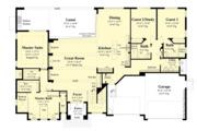 Contemporary Style House Plan - 4 Beds 4 Baths 3594 Sq/Ft Plan #930-504 Floor Plan - Main Floor Plan