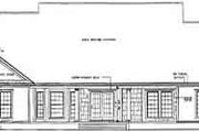 Farmhouse Style House Plan - 4 Beds 2.5 Baths 2354 Sq/Ft Plan #17-1118 Exterior - Rear Elevation