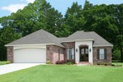Traditional Style House Plan - 3 Beds 2 Baths 1764 Sq/Ft Plan #430-71 Exterior - Front Elevation