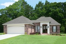 Home Plan - Traditional Exterior - Front Elevation Plan #430-71