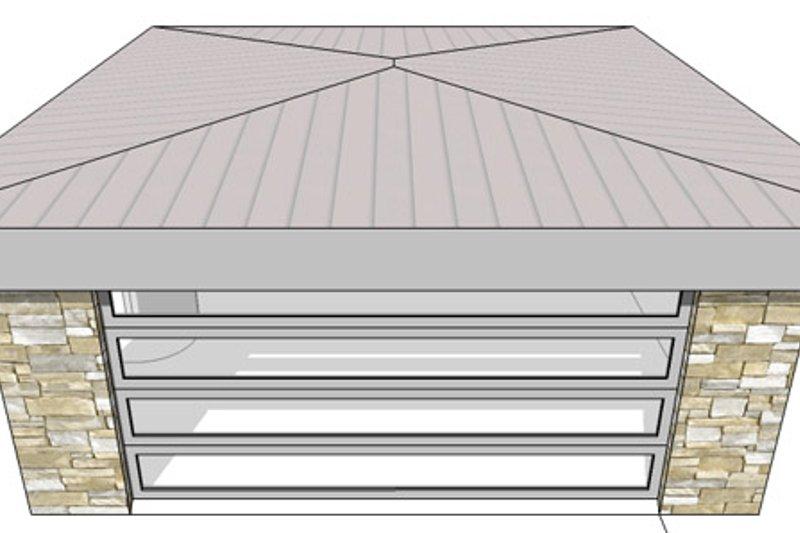 Contemporary Exterior - Front Elevation Plan #64-317 - Houseplans.com
