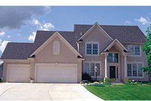 House Plan Design - Traditional Exterior - Front Elevation Plan #51-912