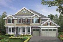 Dream House Plan - Craftsman Exterior - Front Elevation Plan #132-513