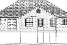 Dream House Plan - Exterior - Rear Elevation Plan #126-129