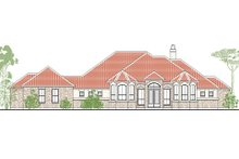 European Exterior - Front Elevation Plan #80-192