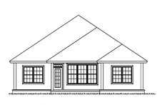 House Plan Design - Country Exterior - Rear Elevation Plan #513-2166