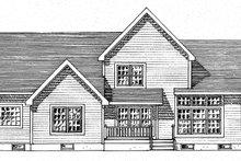 Traditional Exterior - Rear Elevation Plan #316-292