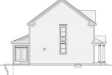 Colonial Exterior - Other Elevation Plan #20-2250