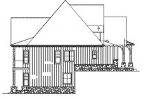 House Design - Ranch Exterior - Other Elevation Plan #54-365