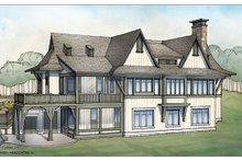 House Plan Design - Craftsman Exterior - Rear Elevation Plan #928-252