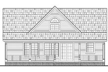 Home Plan - Country Exterior - Rear Elevation Plan #314-273