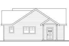 House Plan Design - Traditional Exterior - Other Elevation Plan #124-942