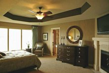 Architectural House Design - Traditional Interior - Master Bedroom Plan #320-990