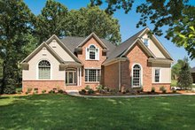 Country Exterior - Front Elevation Plan #929-636