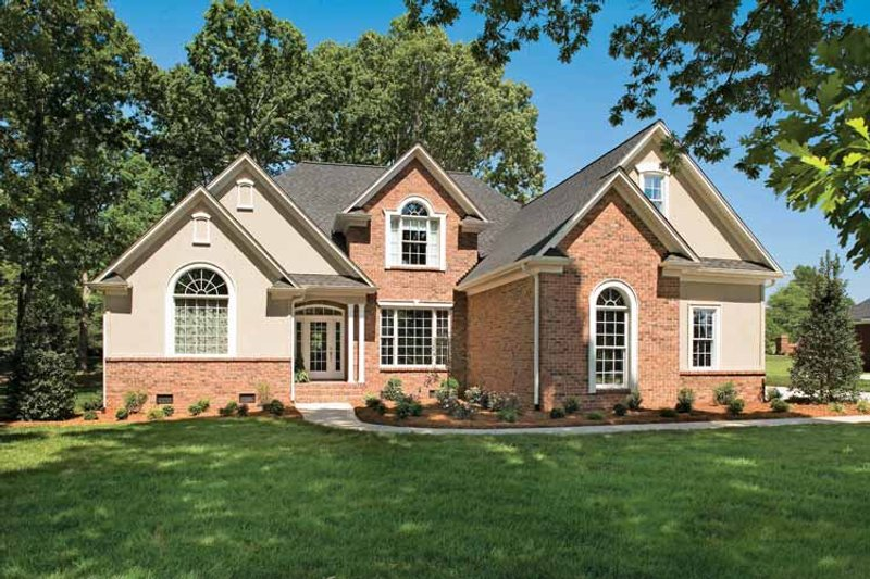 Home Plan - Country Exterior - Front Elevation Plan #929-636