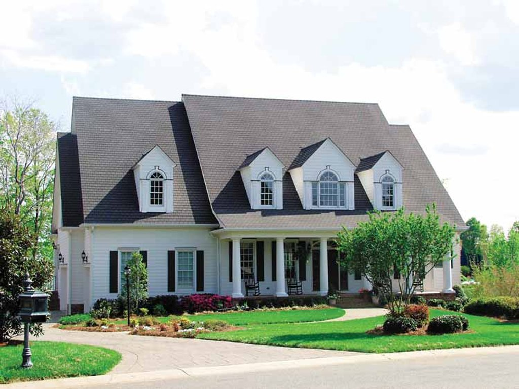 Classical Style House Plan 5 Beds