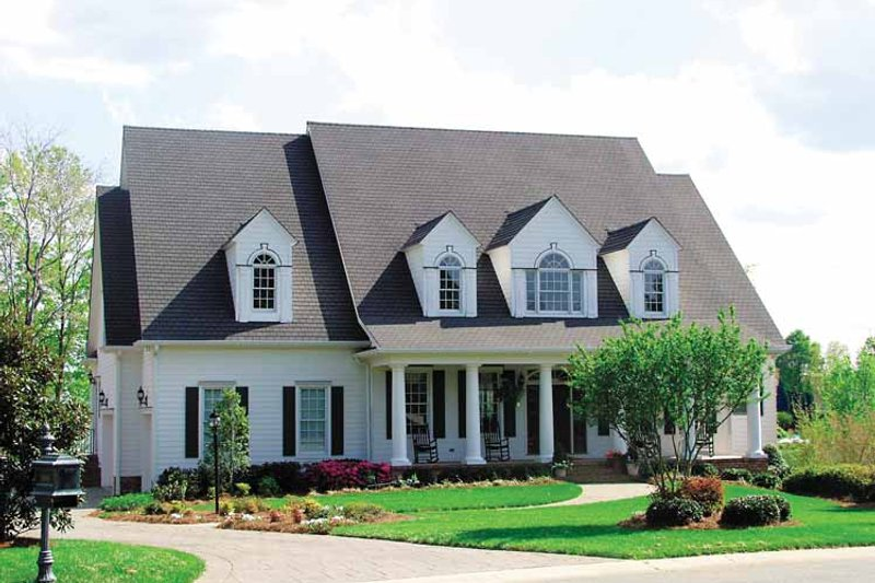 House Plan Design - Classical Exterior - Front Elevation Plan #453-325