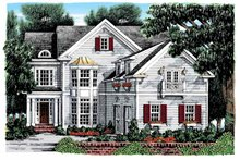 House Plan Design - Colonial Exterior - Front Elevation Plan #927-895
