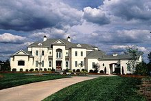 House Plan Design - European Exterior - Front Elevation Plan #453-356