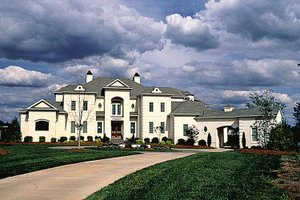 Home Plan - European Exterior - Front Elevation Plan #453-356