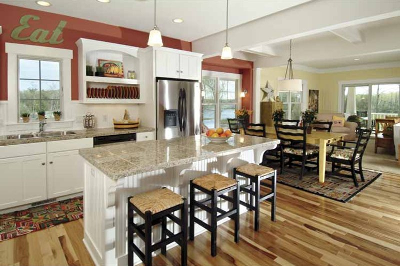 Country Interior - Kitchen Plan #928-110 - Houseplans.com