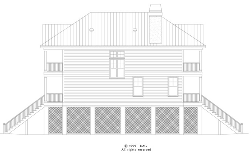 Classical Exterior - Other Elevation Plan #929-506 - Houseplans.com