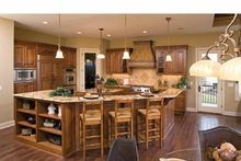Dream House Plan - European Interior - Kitchen Plan #51-1125