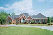 Ranch Style House Plan - 4 Beds 4.5 Baths 4523 Sq/Ft Plan #929-296