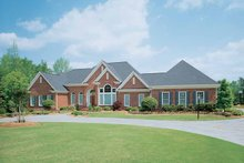 Ranch Exterior - Front Elevation Plan #929-296