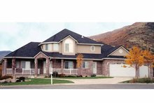 Home Plan - Traditional Exterior - Front Elevation Plan #945-37
