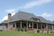 Cottage Style House Plan - 4 Beds 3.5 Baths 4626 Sq/Ft Plan #11-279 Exterior - Rear Elevation