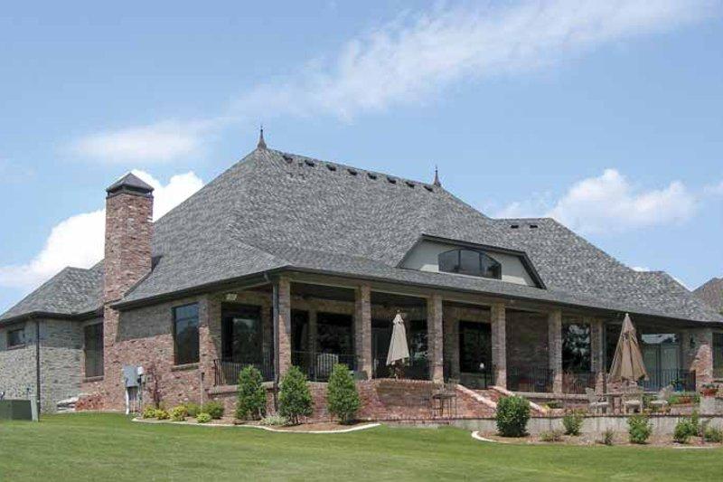 Cottage Exterior - Rear Elevation Plan #11-279 - Houseplans.com
