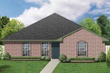 House Plan Design - Ranch Exterior - Front Elevation Plan #84-661