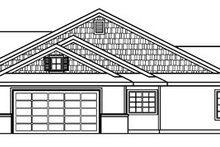 Craftsman Exterior - Other Elevation Plan #124-387