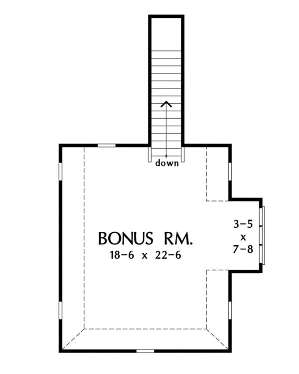 European Floor Plan - Other Floor Plan Plan #929-921
