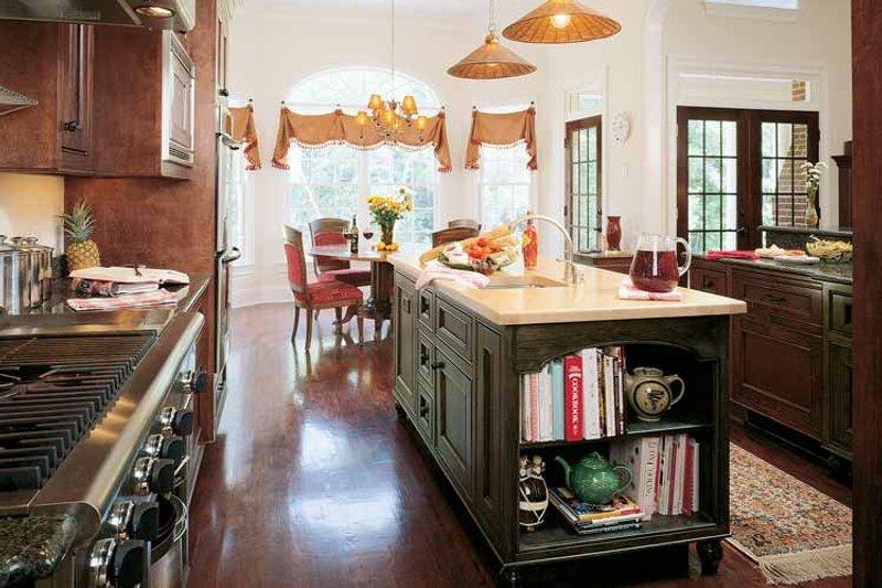 Colonial Interior - Kitchen Plan #929-571 - Houseplans.com