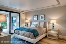 Mediterranean Interior - Bedroom Plan #930-449
