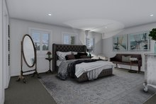 Ranch Interior - Master Bedroom Plan #1060-13