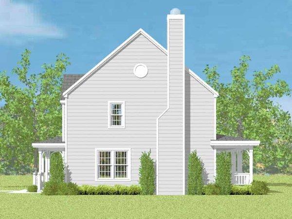 Country Floor Plan - Other Floor Plan Plan #72-1082