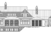Country Style House Plan - 4 Beds 4.5 Baths 4932 Sq/Ft Plan #928-276 Exterior - Rear Elevation