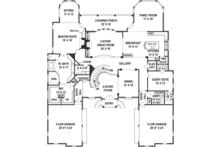 European Floor Plan - Main Floor Plan Plan #119-423