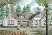 Farmhouse Style House Plan - 4 Beds 4 Baths 3016 Sq/Ft Plan #17-2312 Exterior - Front Elevation
