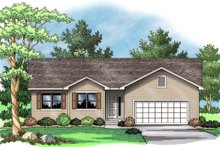 Traditional Exterior - Other Elevation Plan #51-373