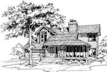 Modern Exterior - Other Elevation Plan #320-126